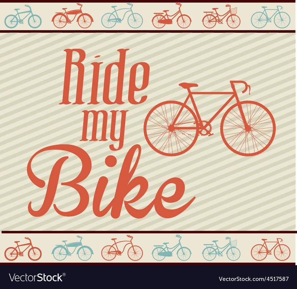 Bike lifestyle design vector   Price: 1 Credit (USD $1)