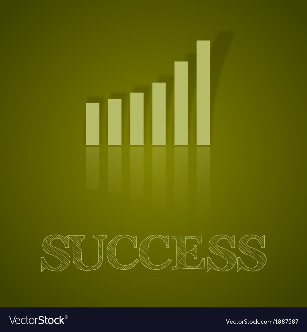 Business graph up with text ii vector   Price: 1 Credit (USD $1)