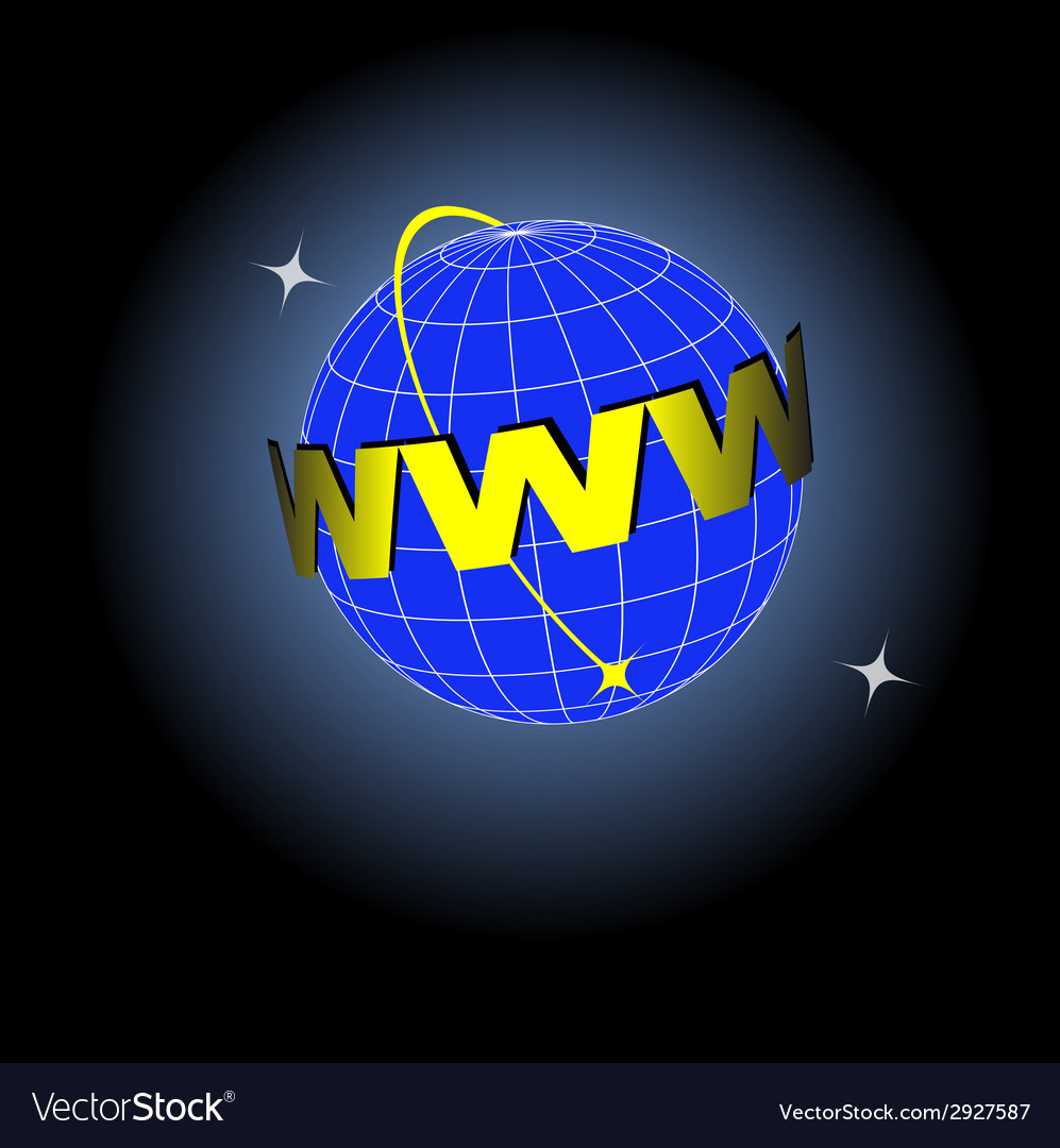 Earth web vector | Price: 1 Credit (USD $1)