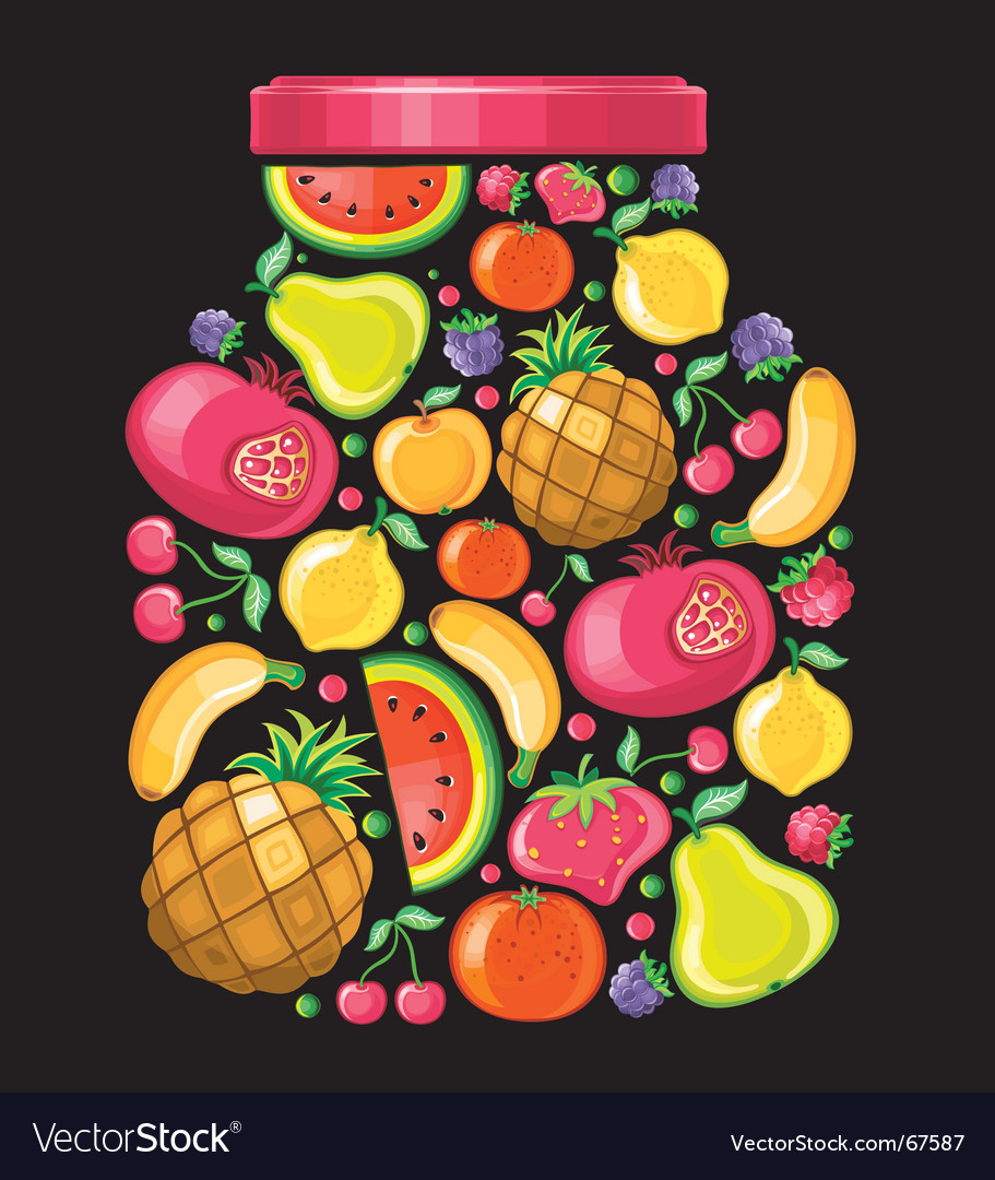 Fruit cane vector | Price: 3 Credit (USD $3)