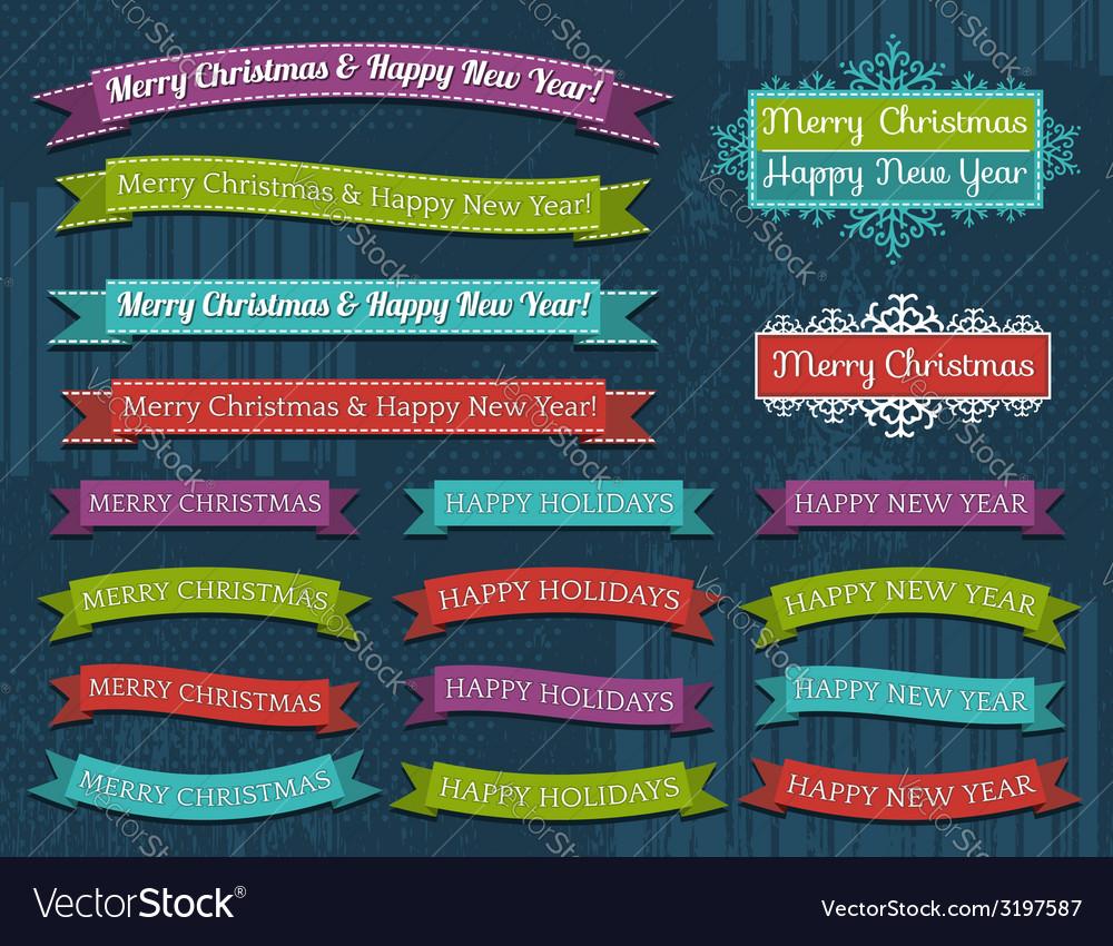 Set of christmas design vector   Price: 1 Credit (USD $1)