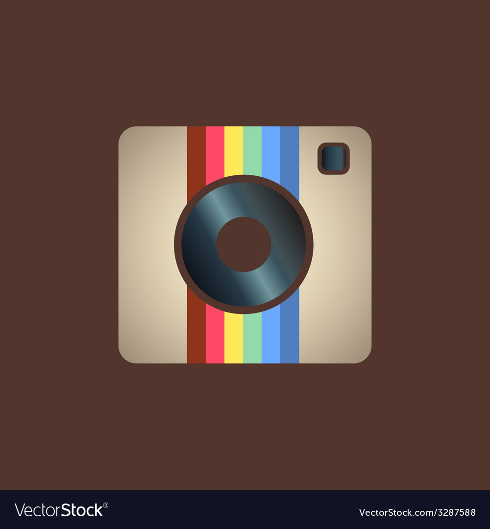 Instagram icon vector | Price: 1 Credit (USD $1)