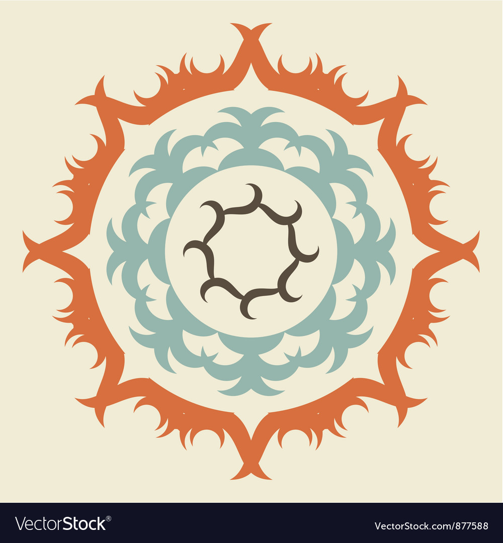 Swirl emblem vector | Price: 1 Credit (USD $1)