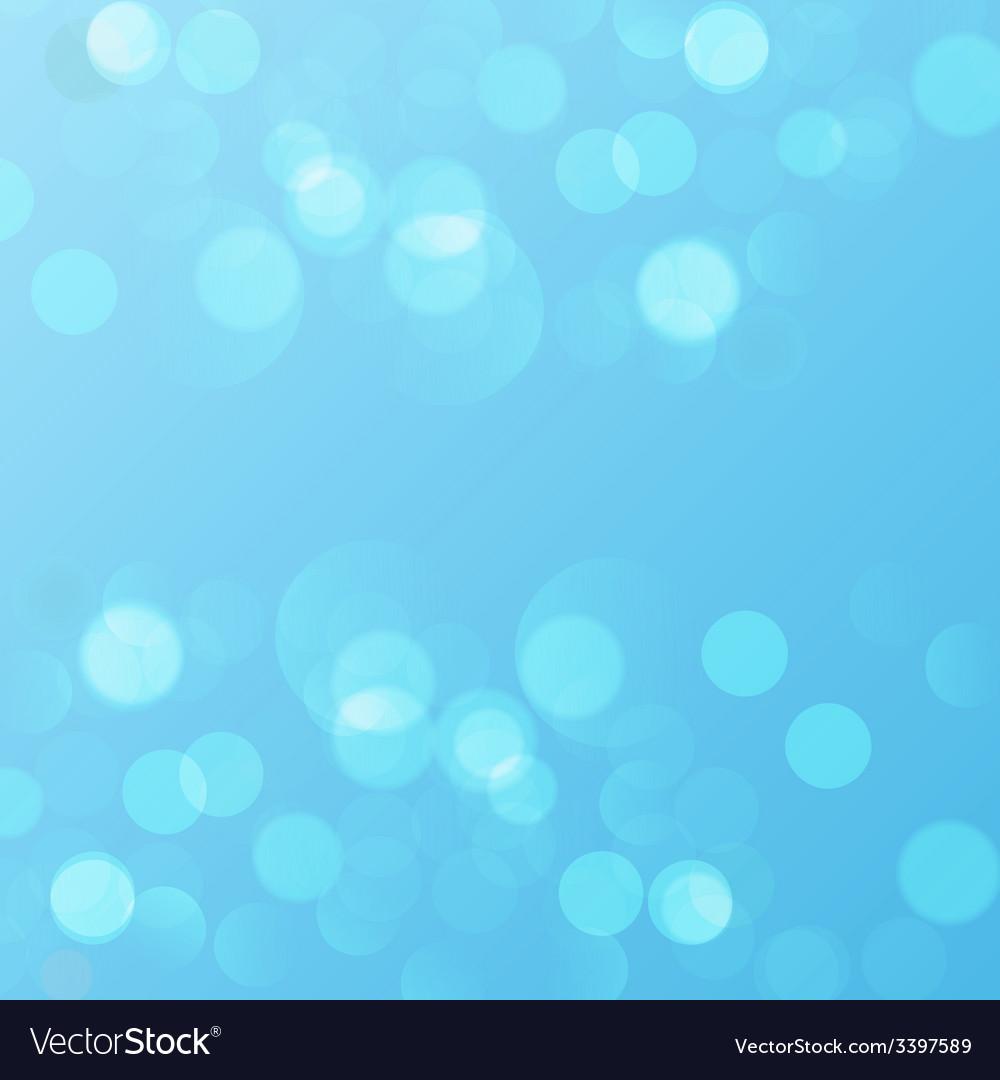 Abstract circular bokeh background vector | Price: 1 Credit (USD $1)