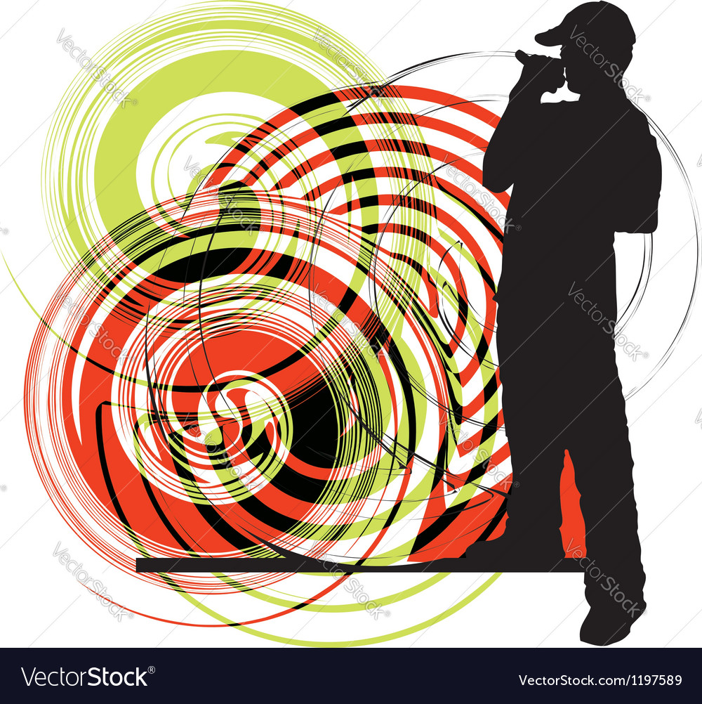 Artists of hip hop vector | Price: 1 Credit (USD $1)