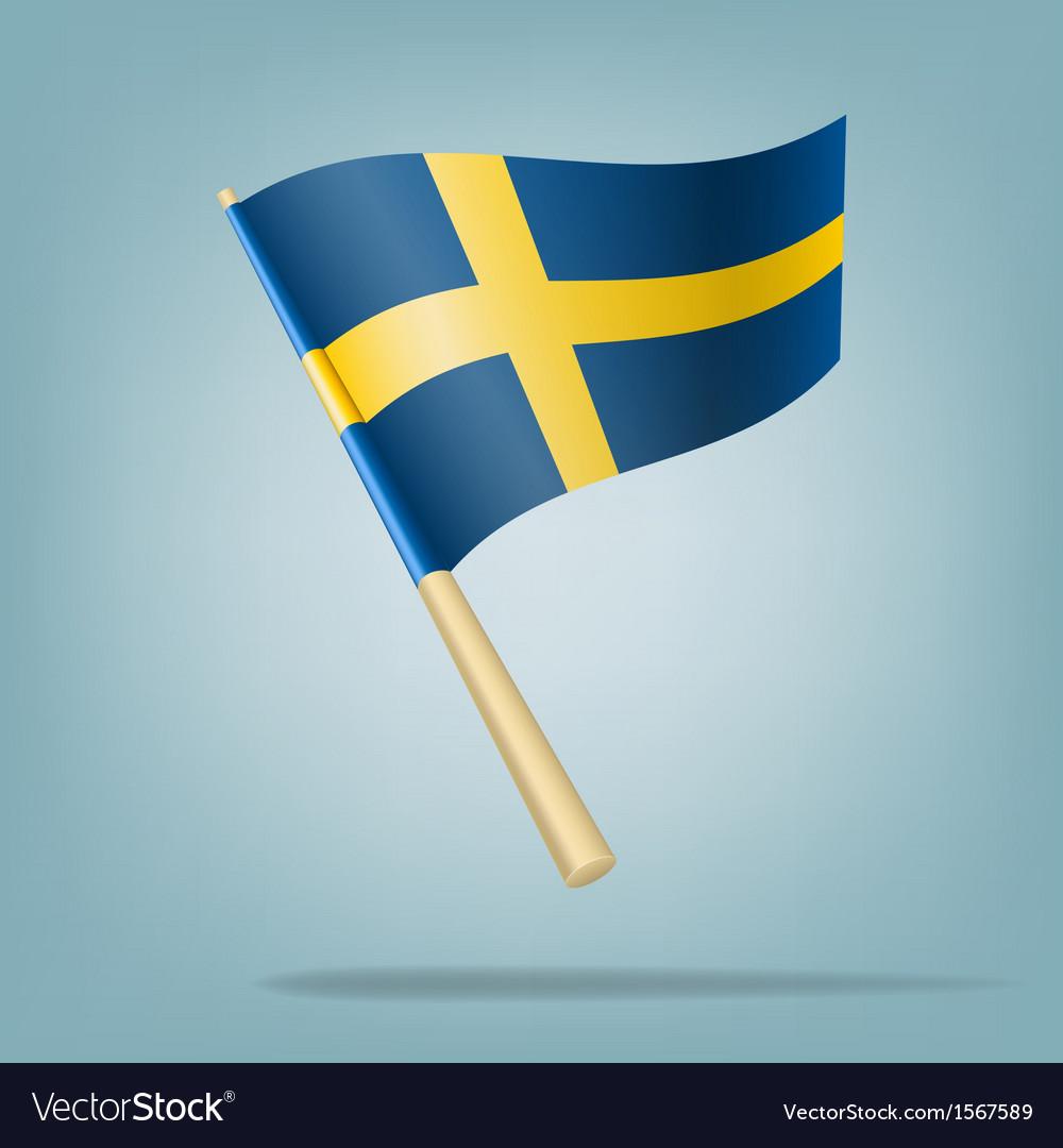 Flag of sweden vector | Price: 1 Credit (USD $1)