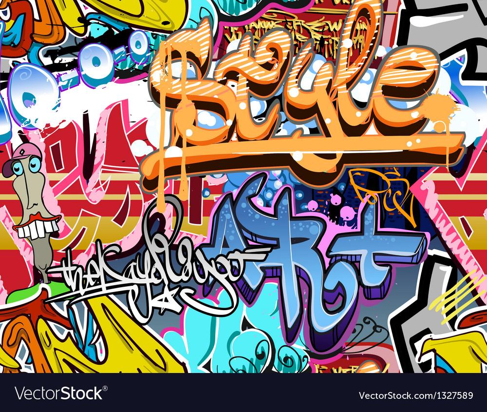Graffiti wall vector | Price: 1 Credit (USD $1)