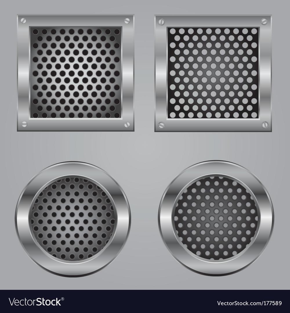 Metal squares vector | Price: 1 Credit (USD $1)