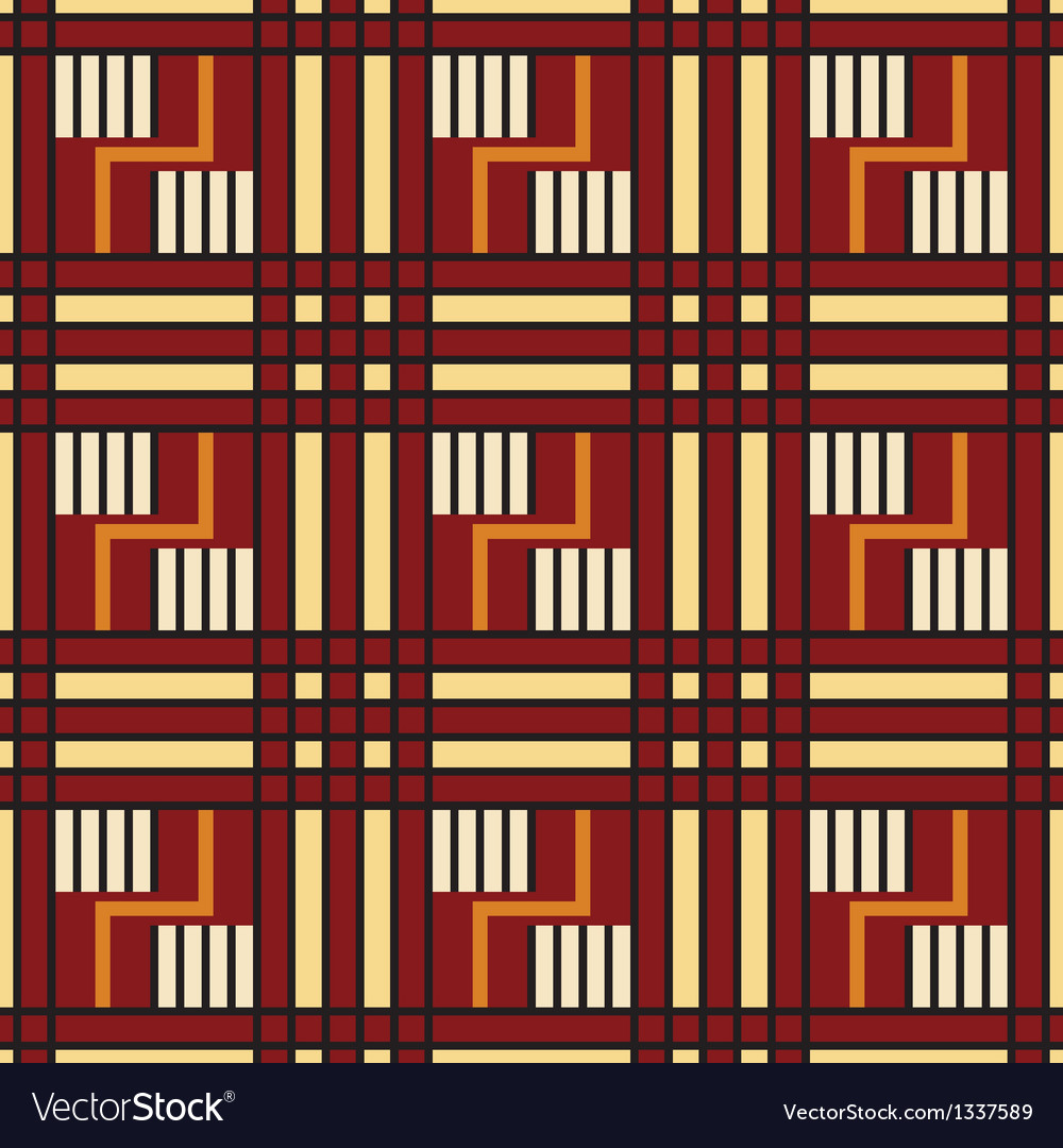 Native american seamless pattern vector | Price: 1 Credit (USD $1)