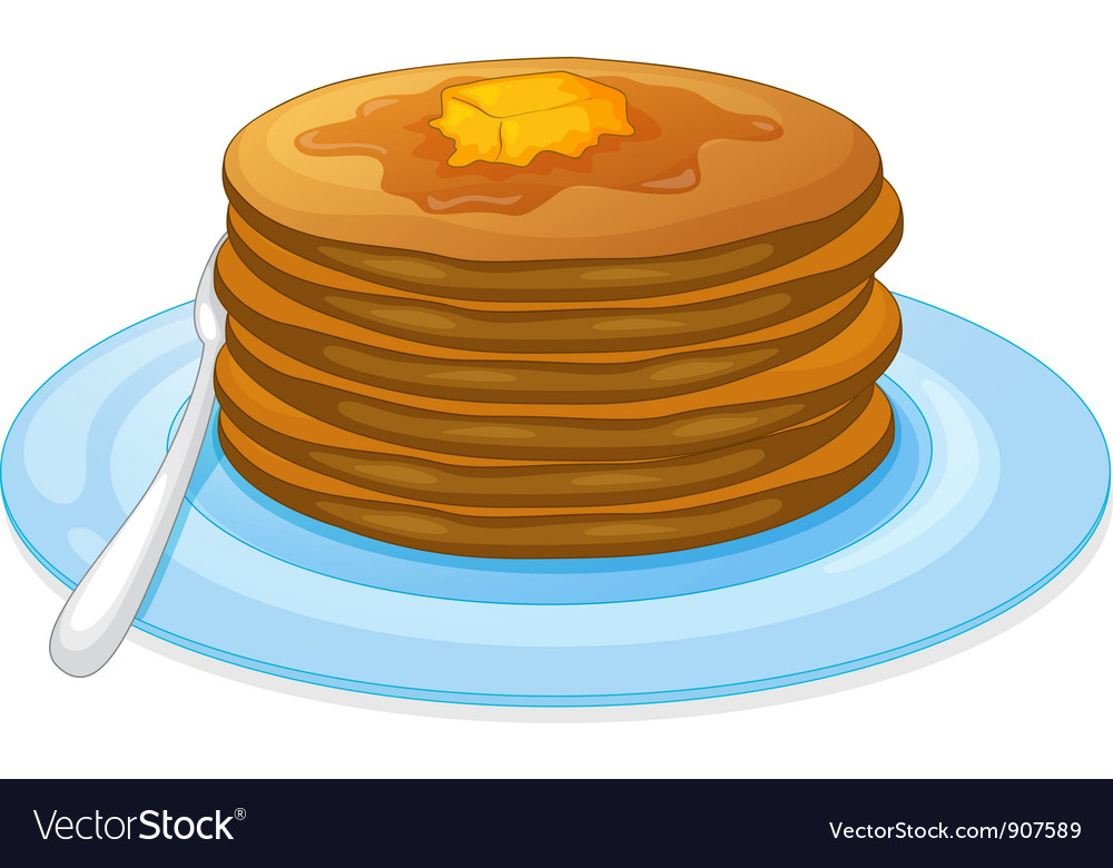 Pancakes vector | Price: 3 Credit (USD $3)