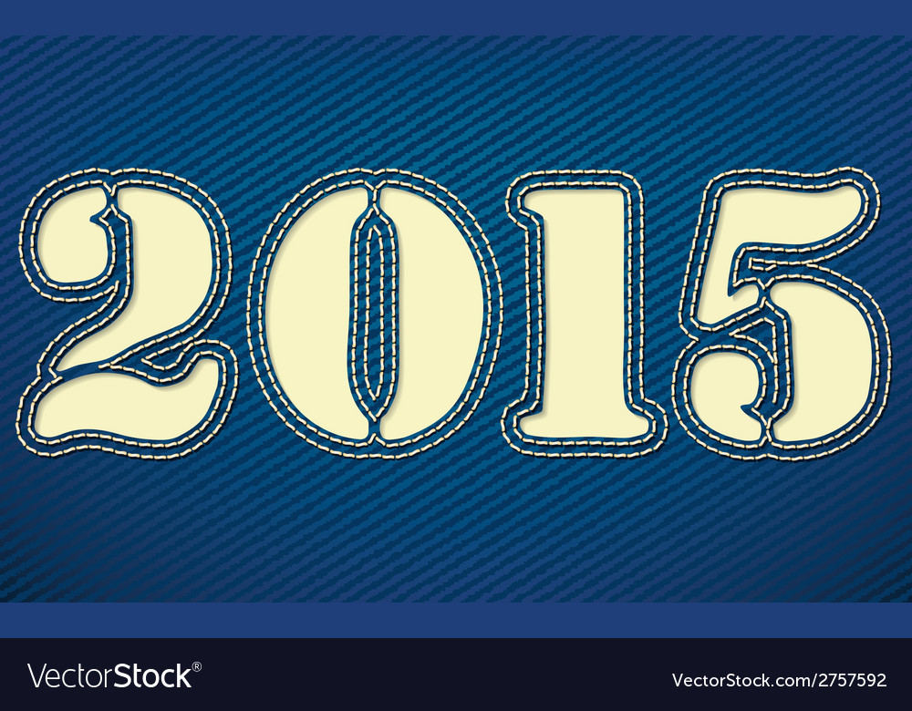 2015 made from leather vector   Price: 1 Credit (USD $1)