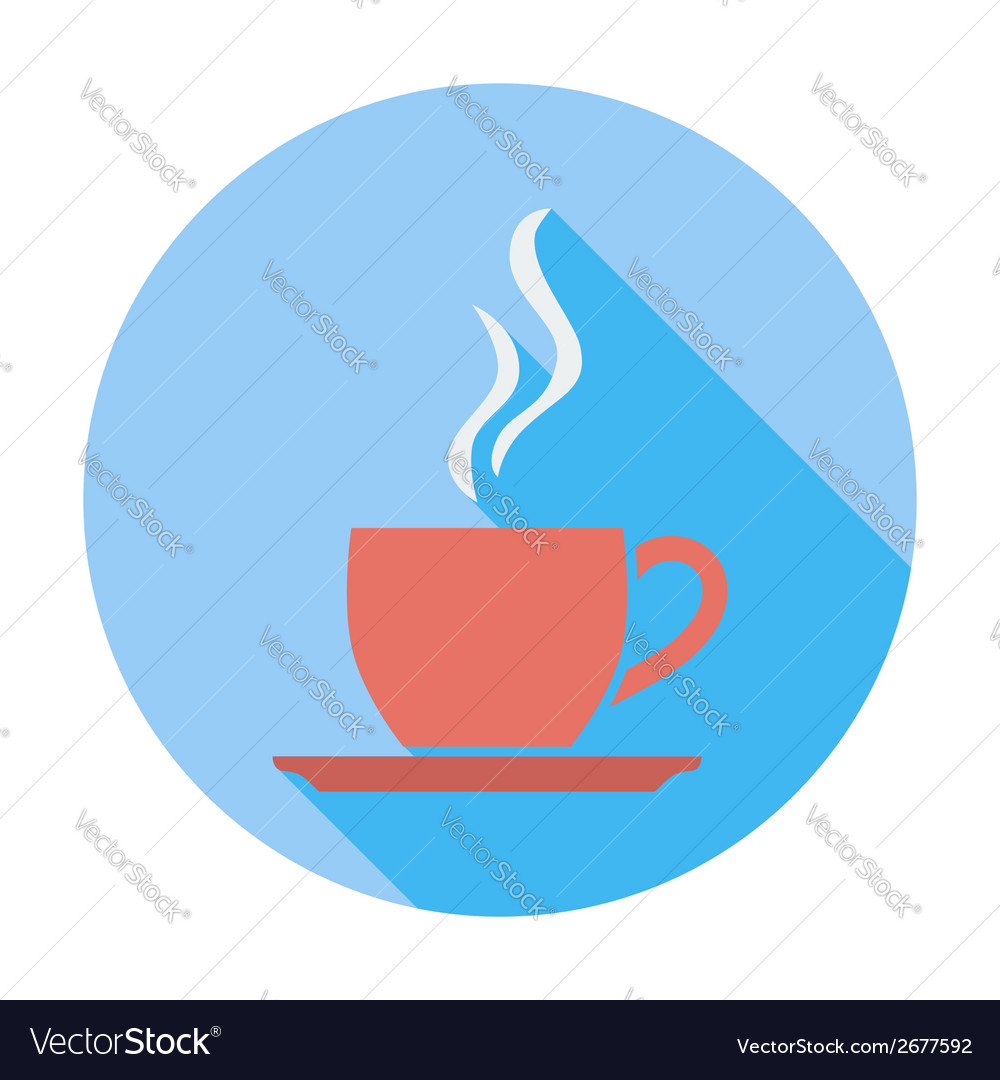 Cafe flat single icon vector | Price: 1 Credit (USD $1)