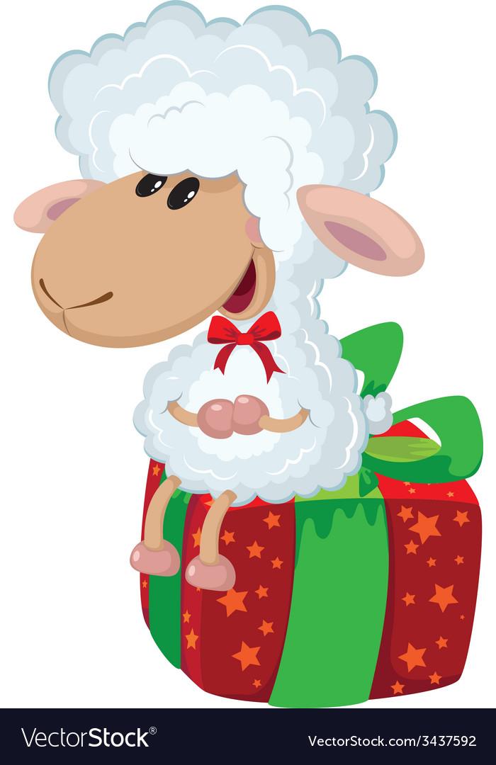 Lamb on the box vector   Price: 3 Credit (USD $3)