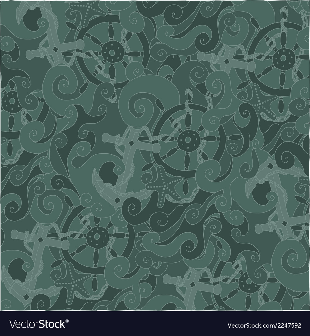 Nautical background pattern vector | Price: 1 Credit (USD $1)