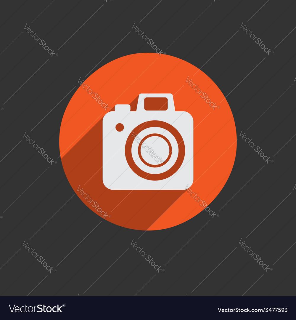 Element for web design photo camera vector | Price: 1 Credit (USD $1)