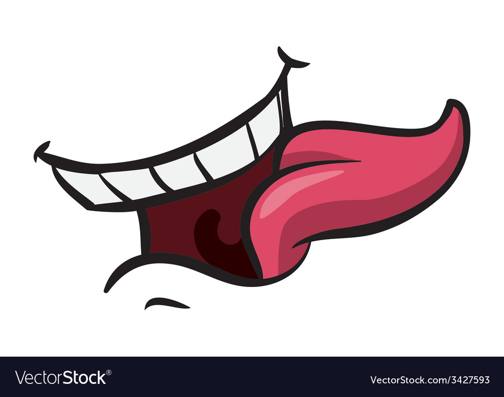 Mouth design vector | Price: 1 Credit (USD $1)