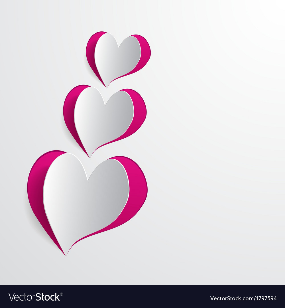 Cut hearts vector   Price: 1 Credit (USD $1)