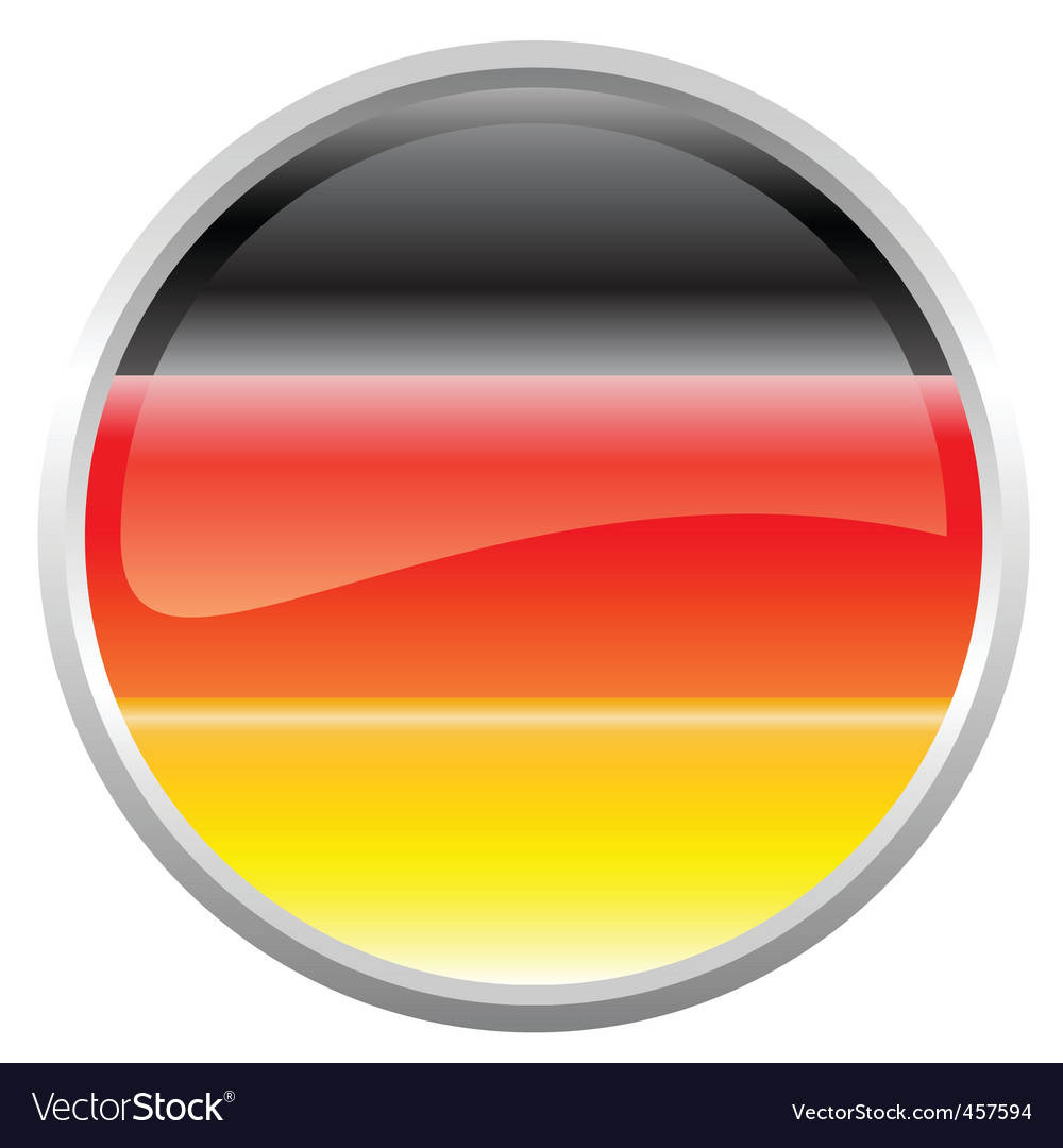 Federal republic of germany flag vector | Price: 1 Credit (USD $1)