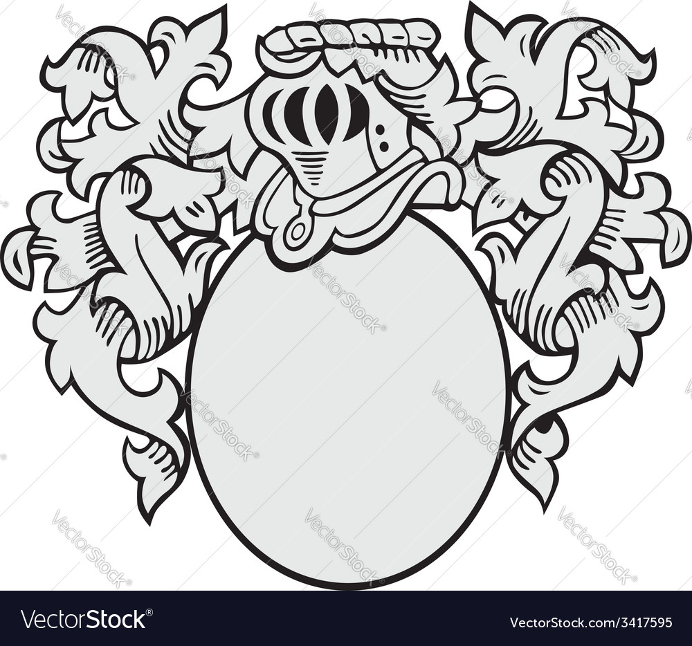 Aristocratic emblem no2 vector | Price: 1 Credit (USD $1)