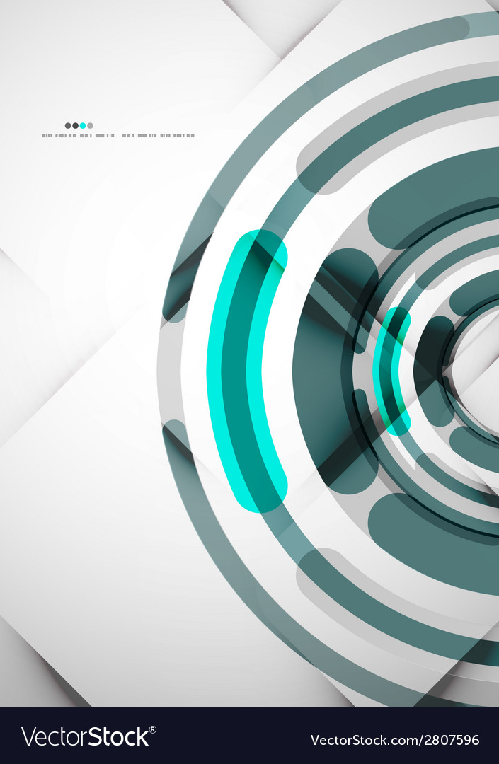 Futuristic rings background vector | Price: 1 Credit (USD $1)