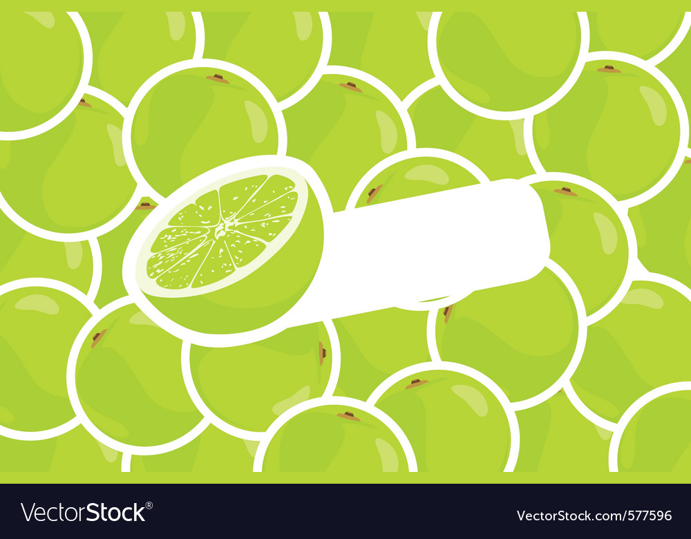 Ripe lime vector | Price: 1 Credit (USD $1)