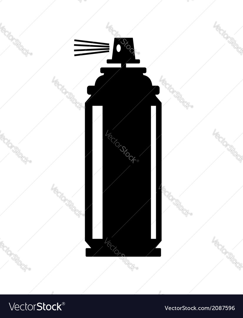 Spray can icon vector | Price: 1 Credit (USD $1)