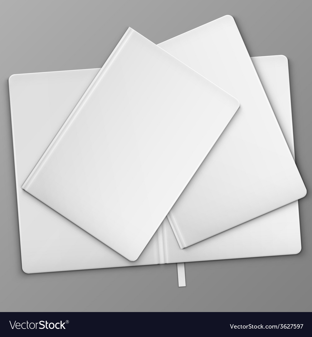 White books on the table vector | Price: 1 Credit (USD $1)