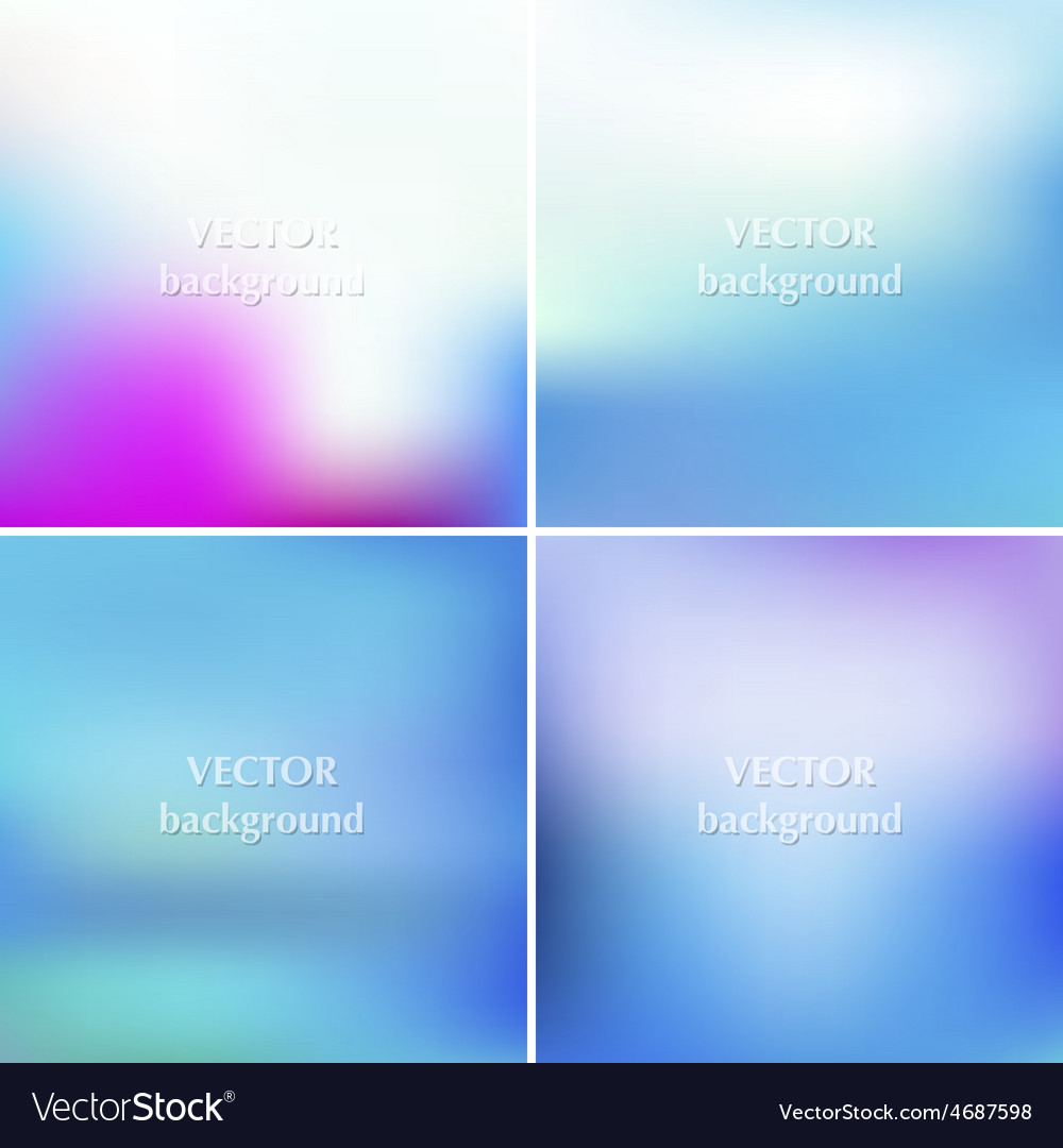 Abstract blue sea aqua summer blurred backgrounds vector | Price: 1 Credit (USD $1)