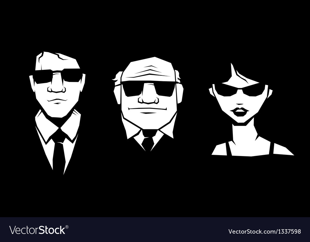 Mafia peoples vector | Price: 1 Credit (USD $1)