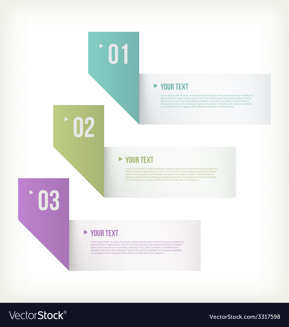 Text and banner paper vector | Price: 1 Credit (USD $1)