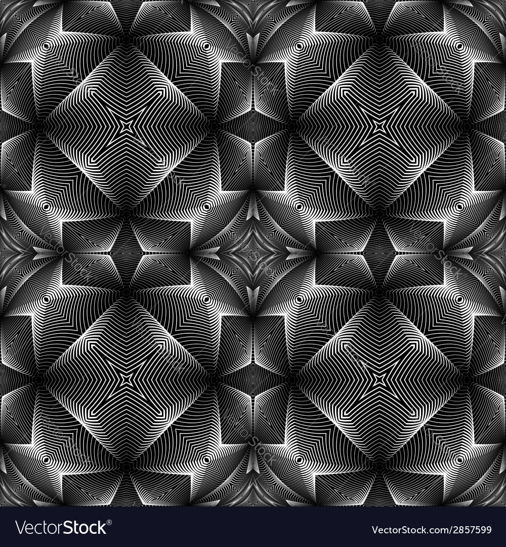 Design seamless decorative trellised pattern vector   Price: 1 Credit (USD $1)