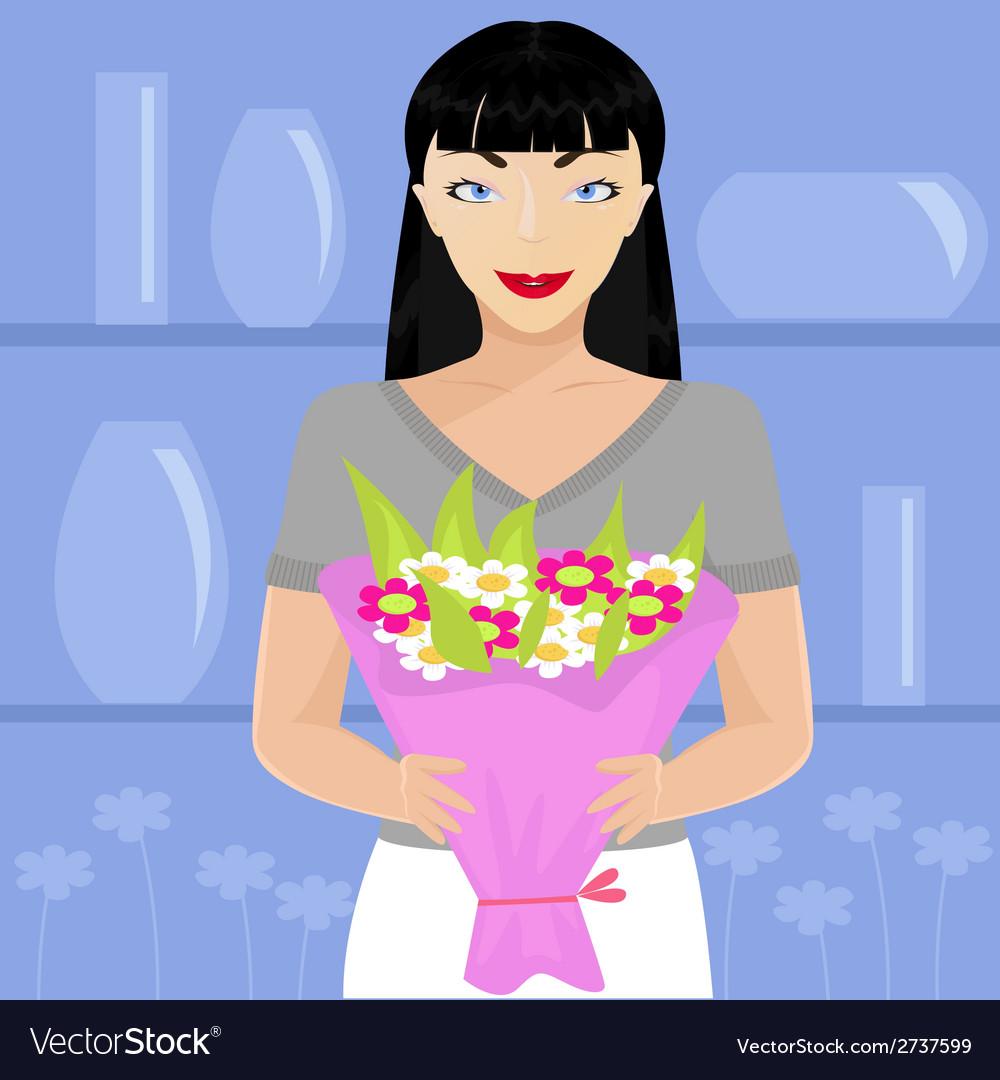 Florist vector | Price: 1 Credit (USD $1)