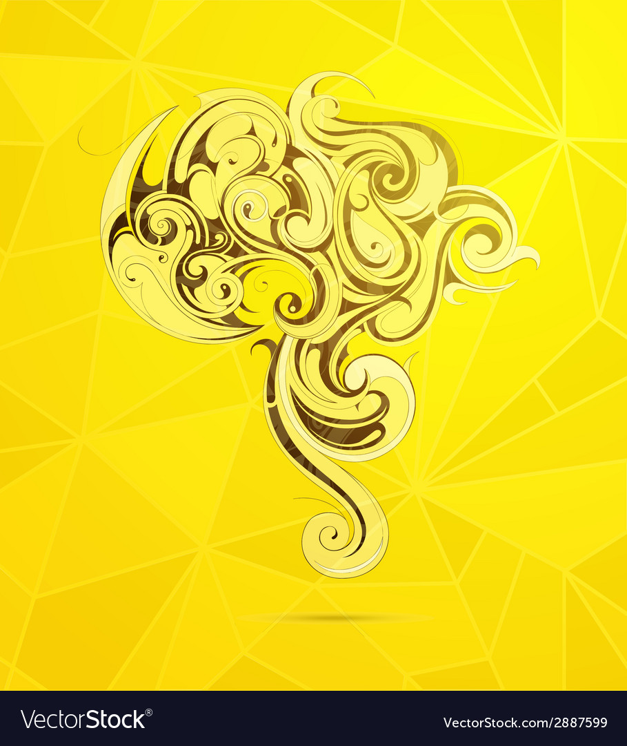 South america artistic shape vector | Price: 1 Credit (USD $1)