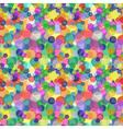 Sparkling color circles pattern vector