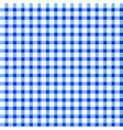 Seamless retro white-blue square tablecloth vector