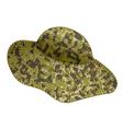 Fishing hat vector