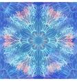 Grunge hand drawn winter seamless pattern vector