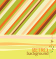 Retro design background vector