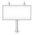 White bilboard vector