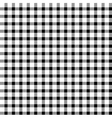 Seamless retro white-black square tablecloth vector