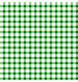 Seamless retro white-green square tablecloth vector
