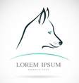 Dog siberian husky vector