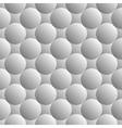 Design seamless monochrome sphere pattern vector