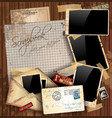 Grunge envelopes vector