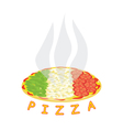 Italian pizza vector