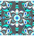 Floral damask seamless pattern background vector