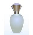 Small bottle of a perfume for women vector