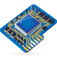 Icon of chipset vector