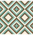 Fashion geometrical pattern in retro colors vector