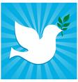 Peace dove symbol vector